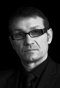 Sergiu Grapa Artist black white